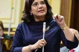 الدكتورة مي البطران وكيل لجنة الاتصالات وتكنولوجيا المعلومات بمجلس النواب