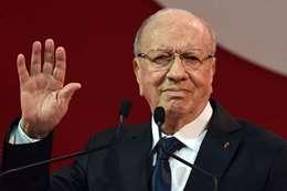 الرئيس التونسي قائد باجي السبسي