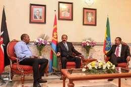 قمة ثلاثية بين إثيوبيا وإريتريا وكينيا