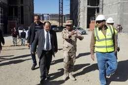 وزير المالية في زيارة إلى العاصمة الإدارية الجديدة