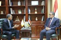 وزير السياحة و ممثل مكتب الأمم المتحدة