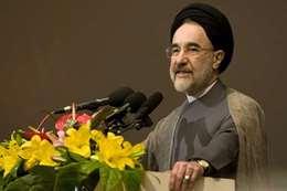 الرئيس السابق محمد خاتمي