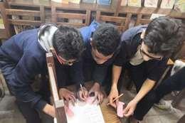 """""""الكتابة المصرية القديمة"""" في مكتبات مدارس المعاهد القومية"""