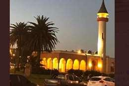 المسجد بعد تحويله لمتحف