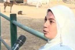 الدكتورة نجلاء رضوان، رئيس الإدارة المركزية لمحطة الزهراء لتربية الخيول