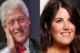 بيل كلينتون و مونيكا