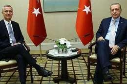 أردوغان وأمين عام الناتو