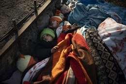 المهاجرين علي حدود اليونان
