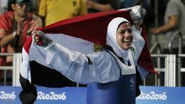 هدايا ملاك تتأهل إلى أولمبياد طوكيو