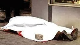 """تشريح جثة ضابط الأمن الوطنى الذي لقى مصرعه فى """"15مايو"""""""