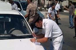 حملات مرورية على الطرق السريعة والكشف على السائقين