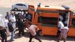 مصرع طفل في حادث تصادم بكوم حمادة