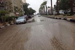 أمطار بني سويف