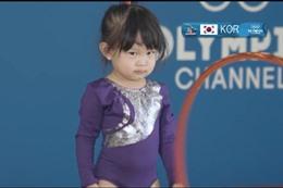 طفلة الأولمبياد