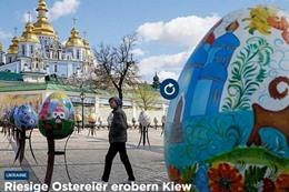مهرجان البيض الملون في اوكرانيا