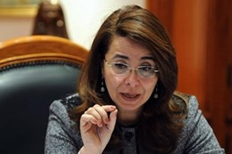 الدكتورة غادة والى، وزيرة التضامن الاجتماعى