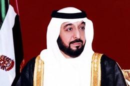 خليفة بن زايد آل نهيان رئيس الإمارات