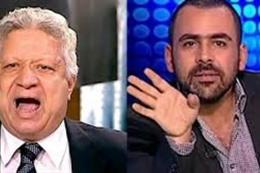 يوسف الحسيني و مرتضي منصور