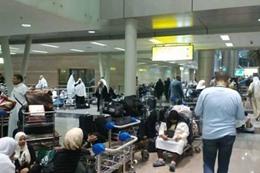 انتهاء أزمة المعتمرين العالقين بمطار القاهرة