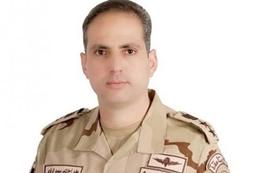 العقيد تامر الرفاعي، المتحدث الرسمي باسم القوات المسلحة