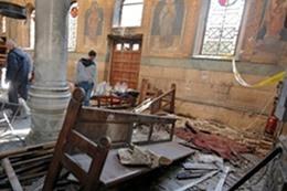 صورة انفجار الكنيسة