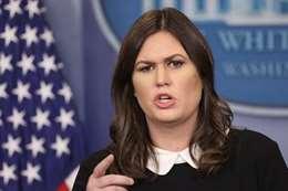 المتحدثة باسم البيت الأبيض سارة ساندرس