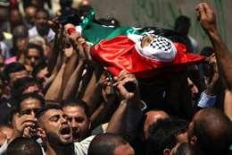 تشييع شهيد فلسطيني - أرشيفية
