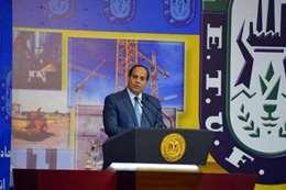 الرئيس عبدالفتاح السيسي يلقي كلمة في عيد العمال