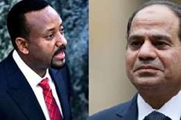 الرئيس السيسي ورئيس وزراء إثيوبيا الجديد
