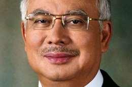 رئيس وزراء ماليزيا نجيب عبدالرزاق