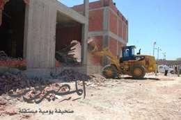تعديات على الأراضي في سوهاج