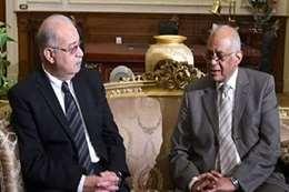 علي عبدالعال، رئيس مجلس النواب وشريف إسماعيل، رئيس الوزراء