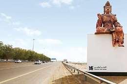 مجسمات اللوفر أبو ظبي
