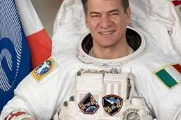 رجل فضاء ايطالي