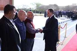 وزير الداخلية في جنازة شهيد النزهة