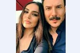 باسل خياط وزوجته