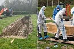 مؤثر.. مقبرة جماعية للمسلمين.. ضحايا كورونا بدولة أوربية