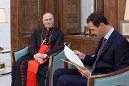 10 آلاف جهاز تنفس صناعي من الفاتيكان لبشار الأسد