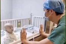 طفل مصاب بكورونا - أرشيفية