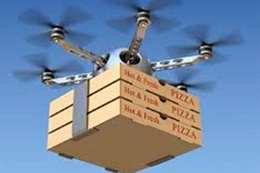 ليست نكتة.. طائرة دليفري لتوصيل البيتزا بسبب كورونا