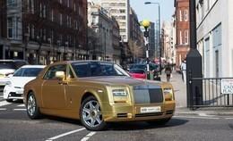 سرقة سيارة ثري سعودي بطريقة غريبة في لندن