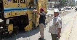 """بدء صيانة كوبرى """"أبو حمص"""" العلوى فى البحيرة"""