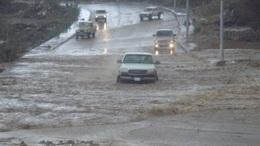 أمطار غزيرة وعواصف رعدية تضرب الغربية