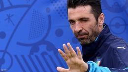 بوفون يغيب عن مران منتخب إيطاليا قبل مواجهة أيرلندا