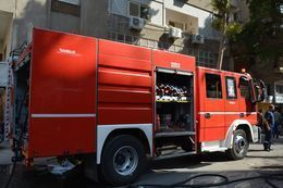 الحماية المدنية تسيطر على حريق بـ 5 أحواش بأخميم