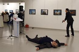 اغتيال السفير الروسي في انقرة