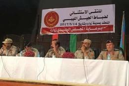 """رفض """"حفتر"""" في المؤسسة العسكرية الليبية"""