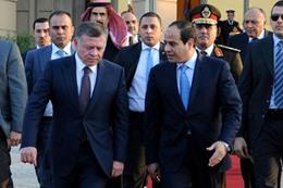 ملك الأردن يغادر القاهرة عائدًا إلى بلاده