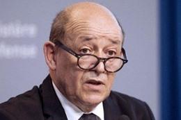 وزير الخارجية الفرنسي، جان-إيف لودريان