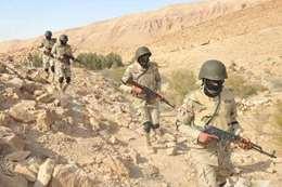 حصار جبال قنا بحثا عن متهمي المنيا